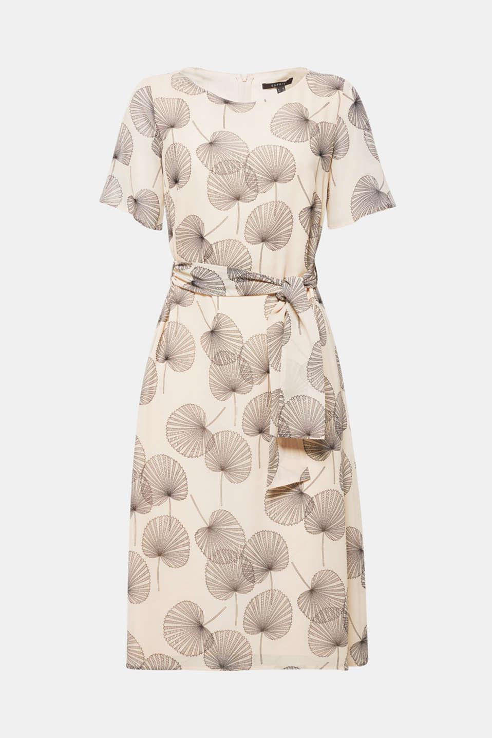 Dresses light woven, LIGHT BEIGE, detail image number 5