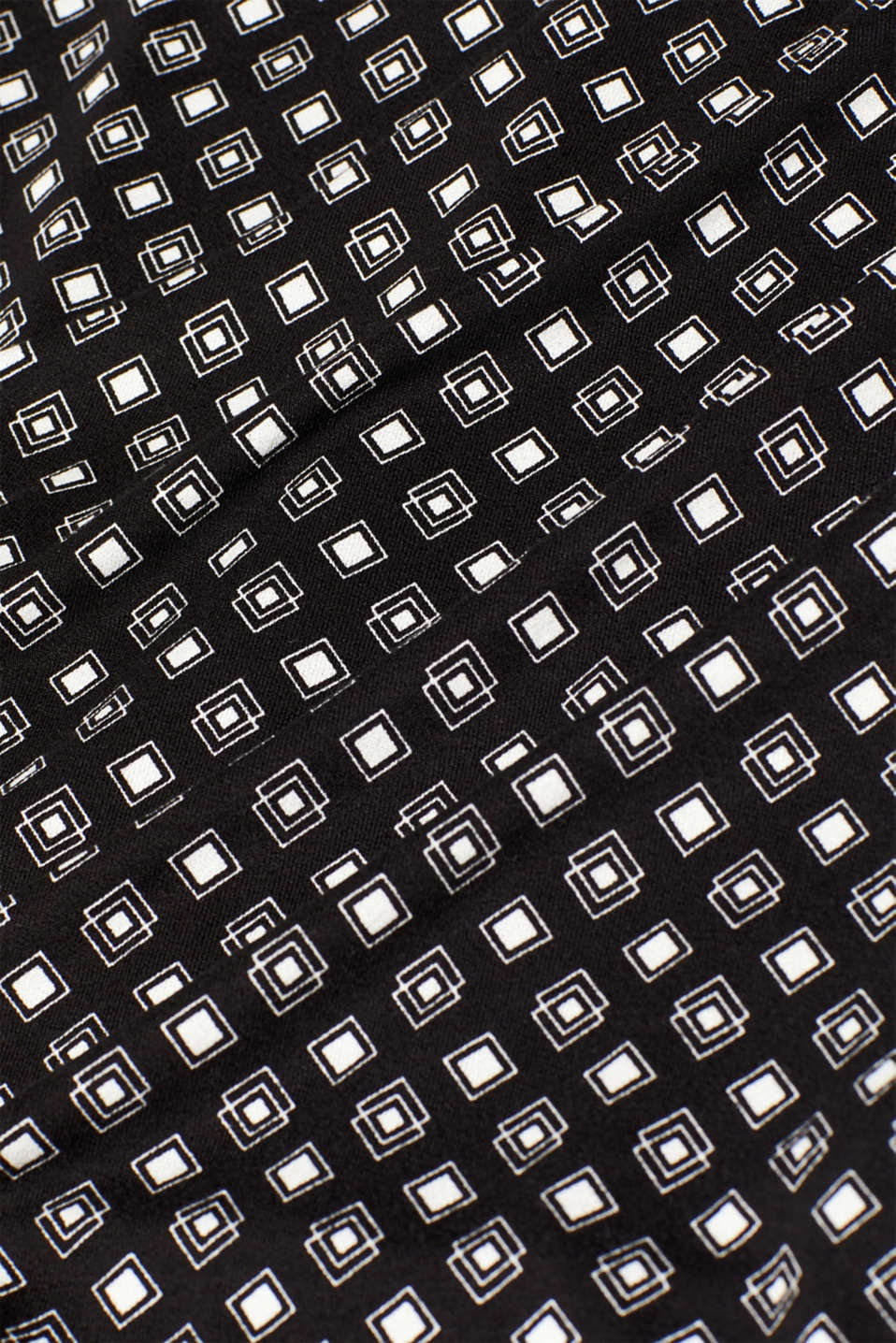 O-shaped dress made of patterned stretch jersey, BLACK 2, detail image number 4