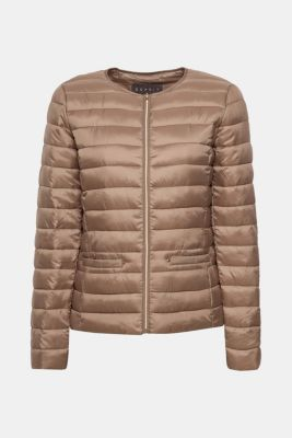 Lightweight quilted jacket with 3M™ Thinsulate™ filling, TAUPE, detail