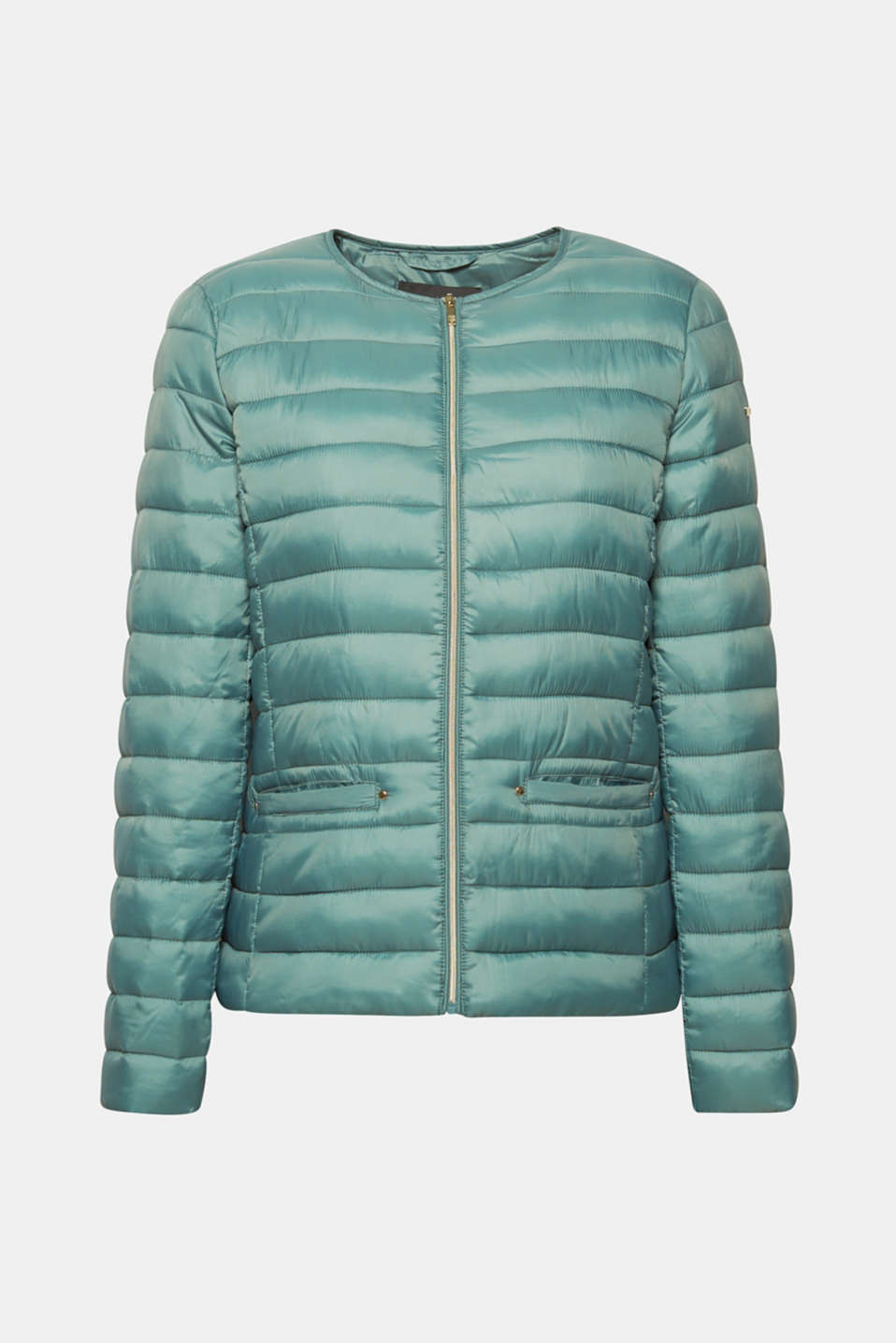 Lightweight quilted jacket with 3M™ Thinsulate™ filling, DUSTY GREEN, detail image number 6