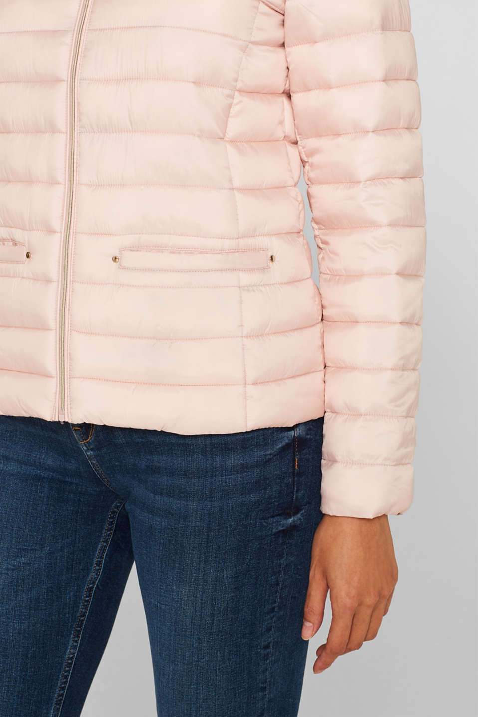 Lightweight quilted jacket with 3M™ Thinsulate™ filling, NUDE, detail image number 2