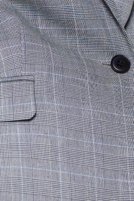 HOUNDSTOOTH CHECK Mix + Match stretch blazer