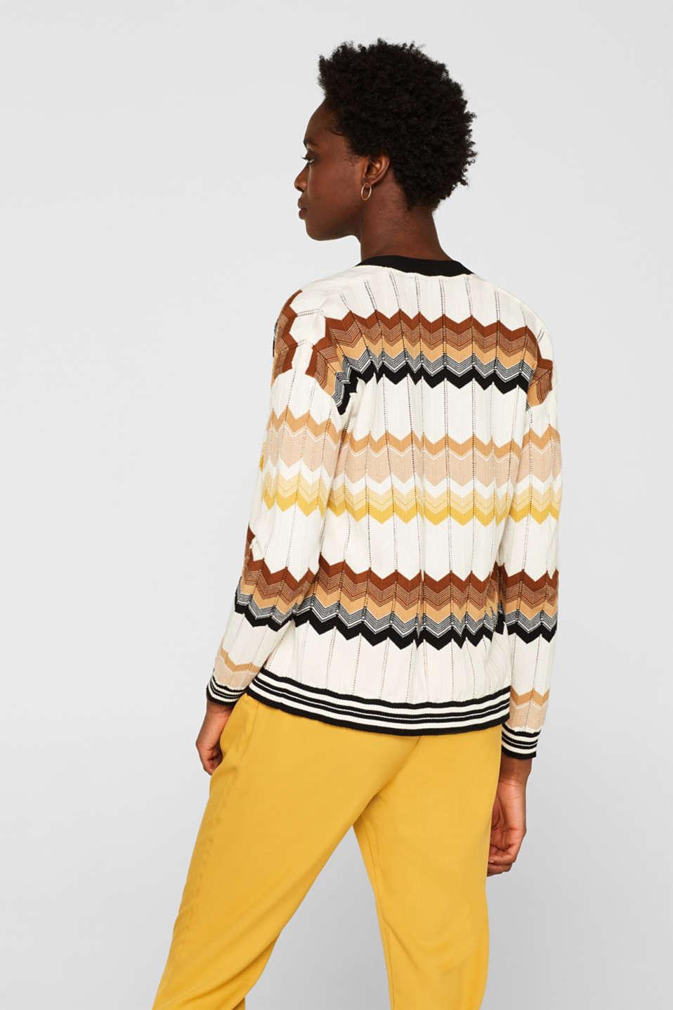 Sweaters cardigan, BLACK, detail image number 2