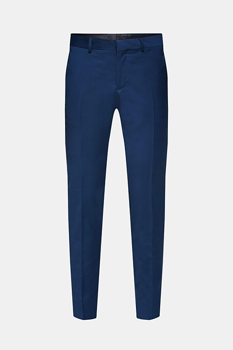 EXTRA SLIM mix + match: trousers with pressed pleats