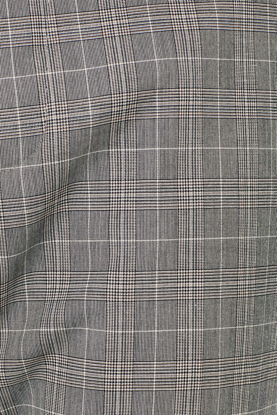 GLENCHECK mix + match: trousers with pressed pleats, GREY, detail image number 3