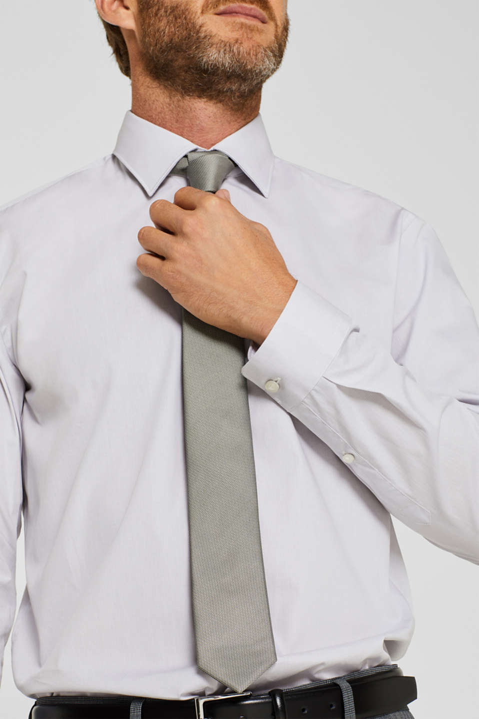 Shirts woven Regular fit, LIGHT GREY, detail image number 2