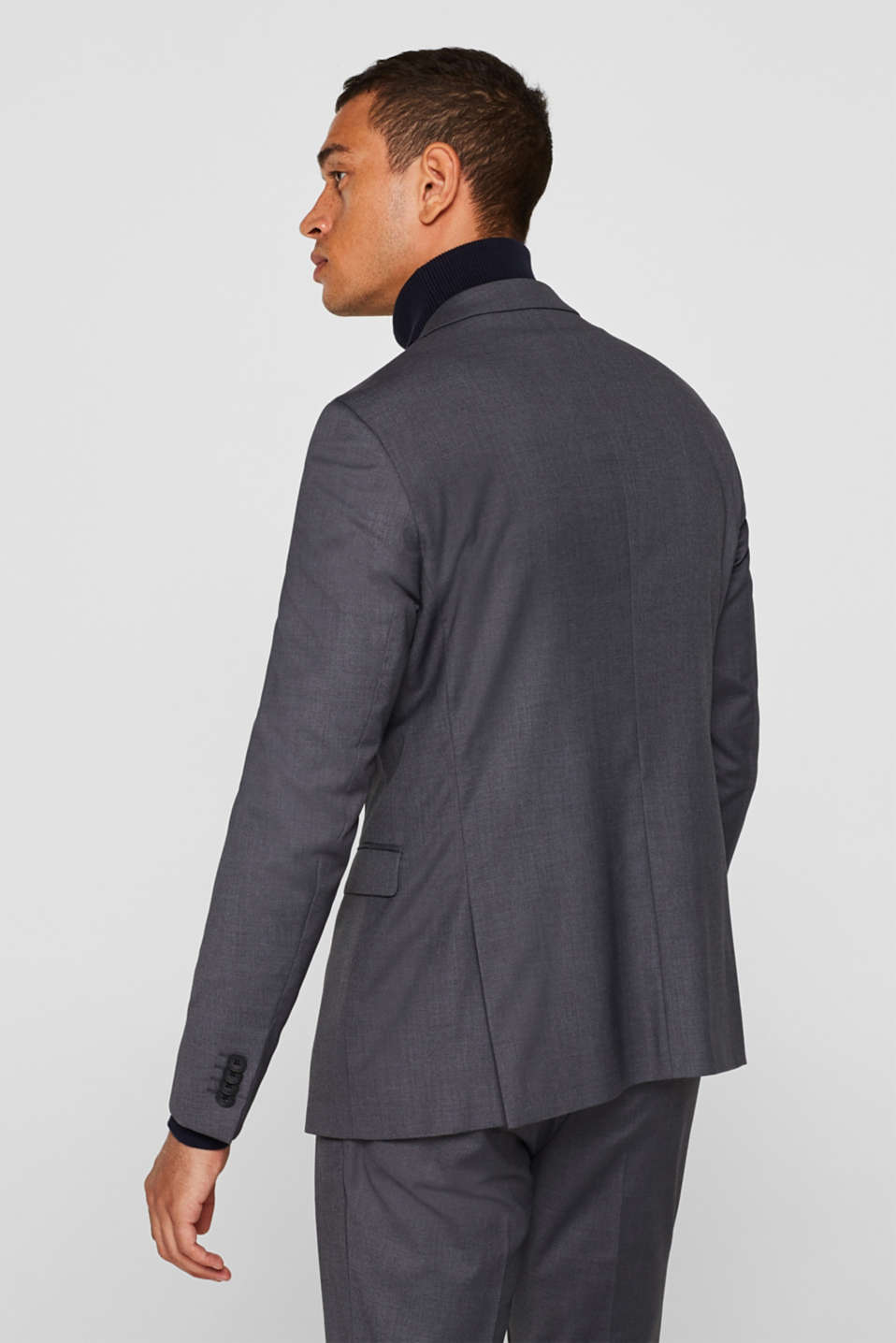Blazers suit, GREY, detail image number 3
