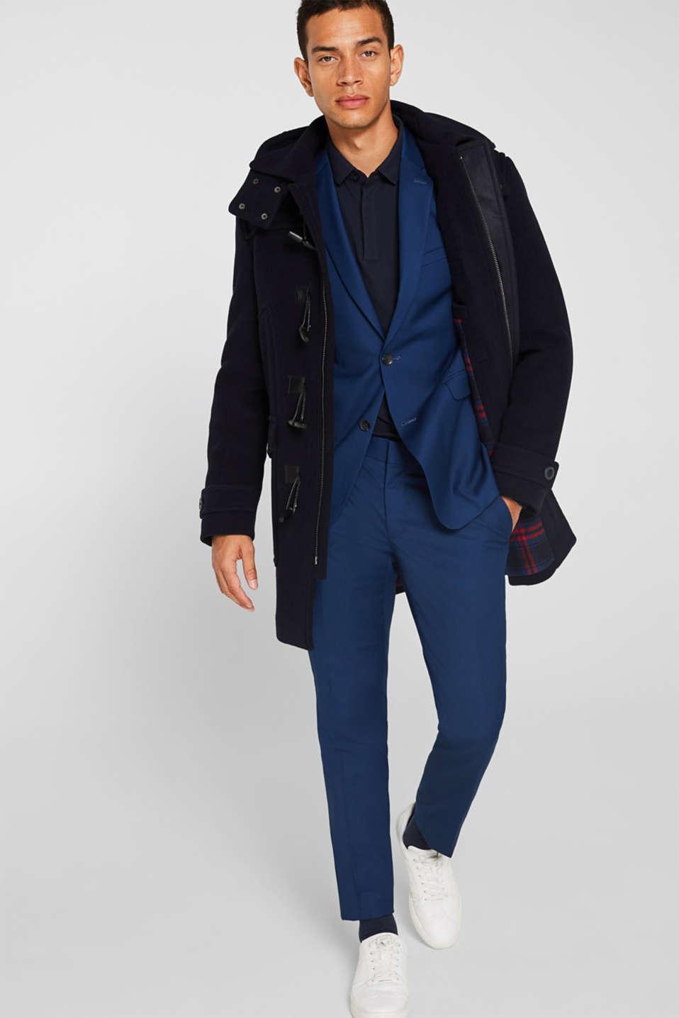 Blazers suit, BLUE, detail image number 1