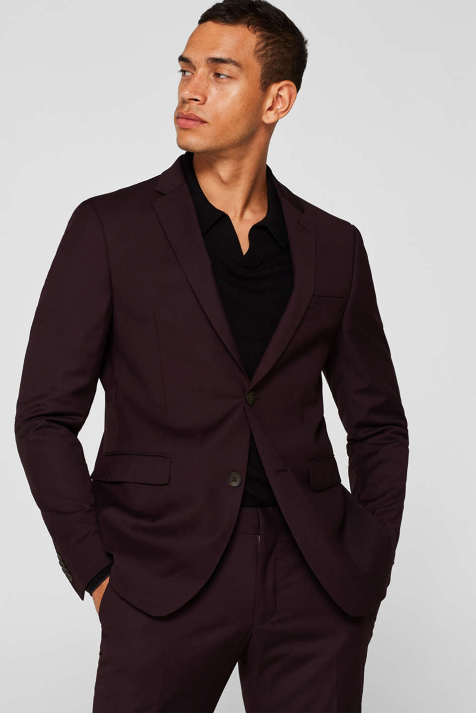 Esprit - EXTRA SLIM mix + match: colbert met stretch