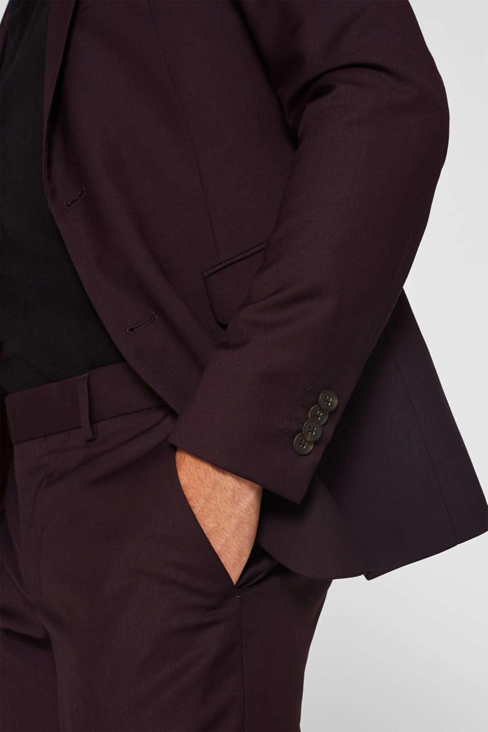 Blazers suit, BORDEAUX RED, detail image number 6