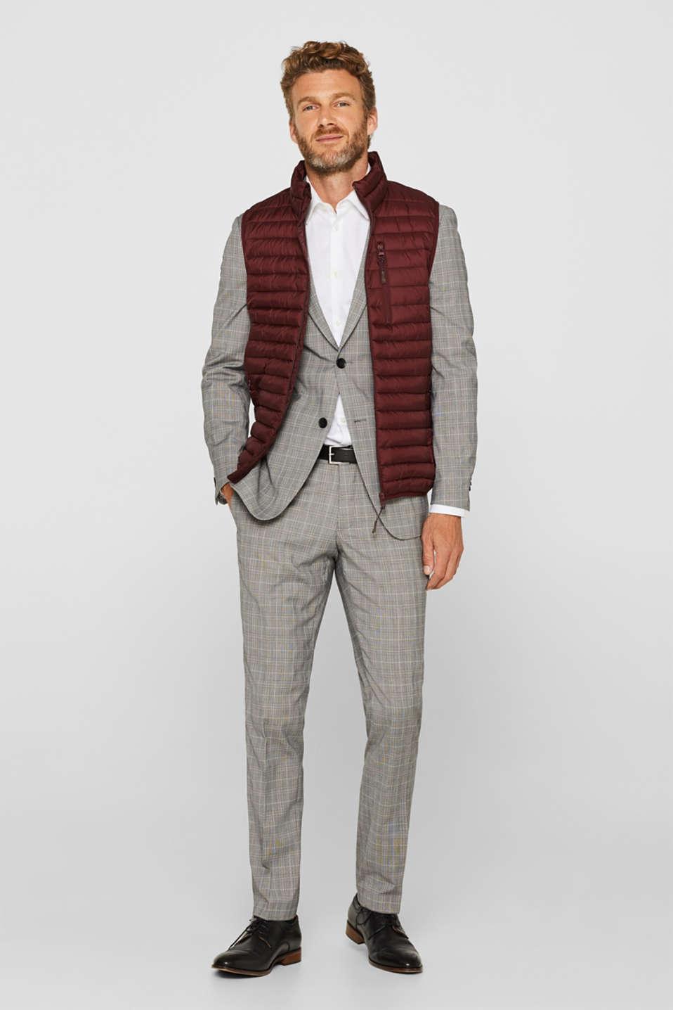Blazers suit, GREY, detail image number 1