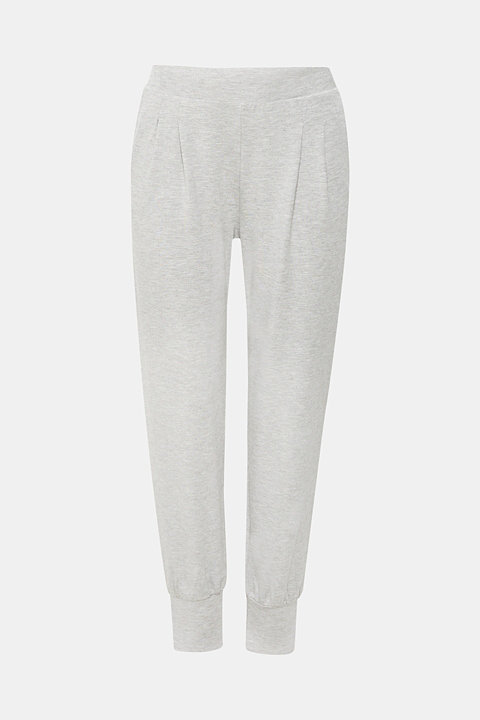Ultra soft jersey trousers containing LENZING™ ECOVERO™