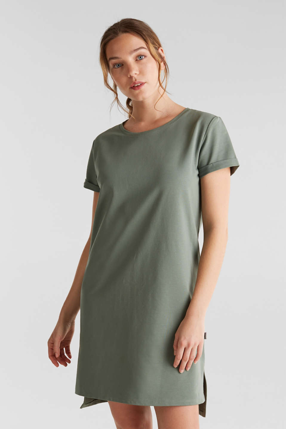Esprit - Loungewear dress made of stretch jersey