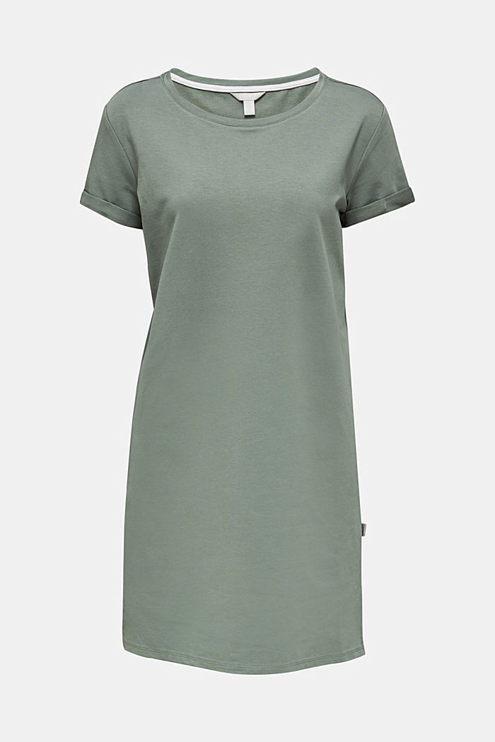 Loungewear dress made of stretch jersey