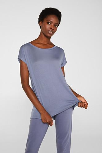 Sensationally soft T-shirt made of stretchy TENCEL™