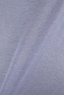 Sensationally soft T-shirt made of stretchy TENCEL™, GREY BLUE, detail