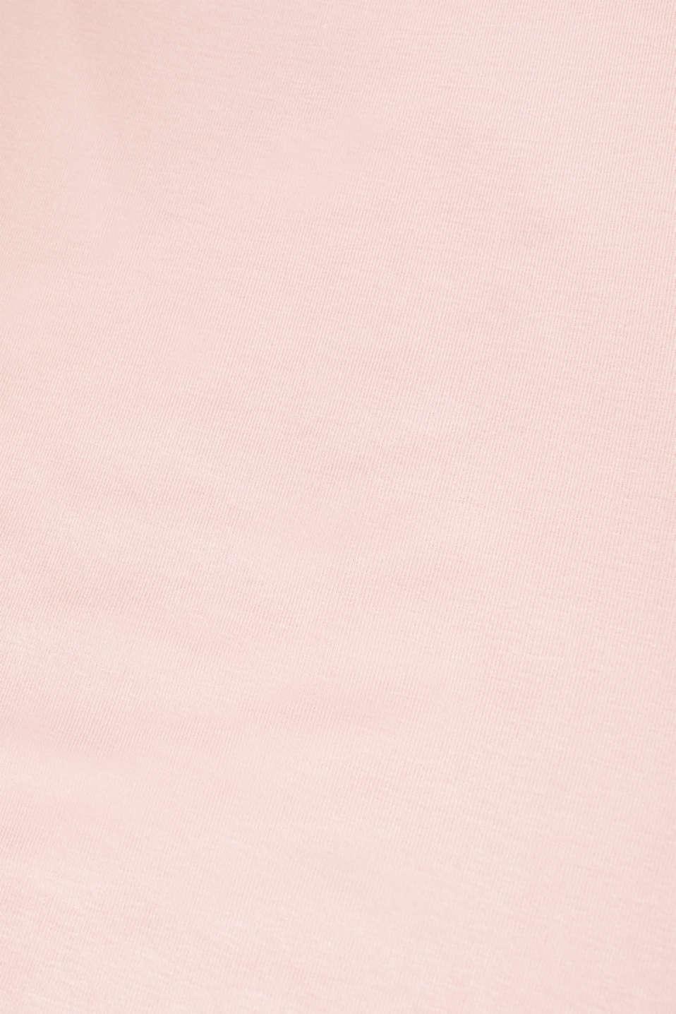 Sensationally soft T-shirt made of stretchy TENCEL™, OLD PINK, detail image number 2