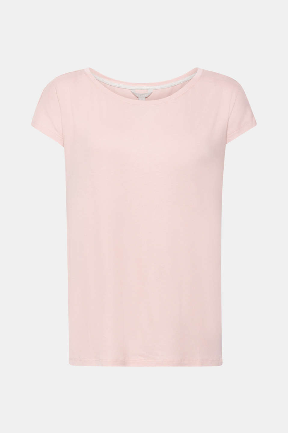 Sensationally soft T-shirt made of stretchy TENCEL™, OLD PINK, detail image number 4