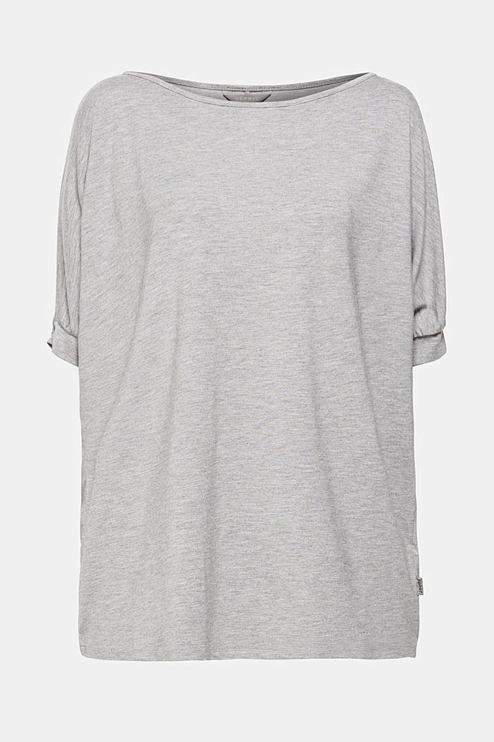 T-shirt à épaules dénudées et teneur en viscose LENZING™ ECOVERO™