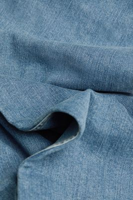Bootcut jeans made of organic cotton, BLUE MEDIUM WASH, detail