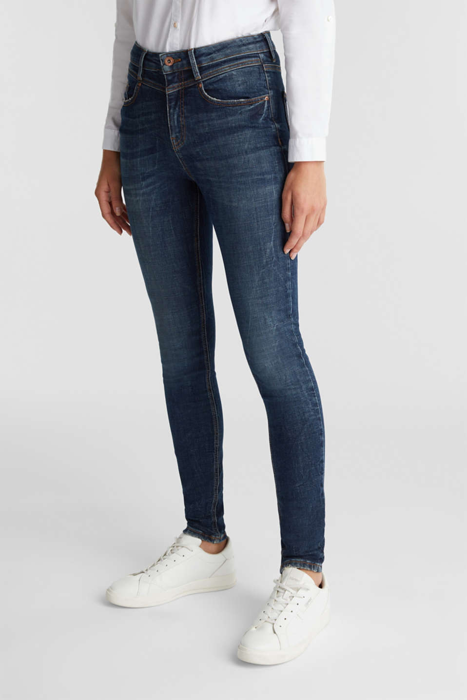edc - Enkellange shaping jeans