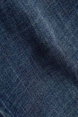 Shaping jeans with a high-waisted waistband, BLUE DARK WASH, detail
