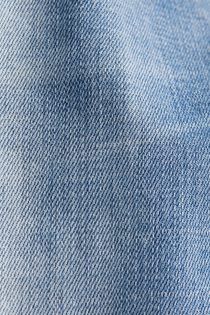 Knöchellange Shaping-Jeans, BLUE LIGHT WASHED, detail image number 4