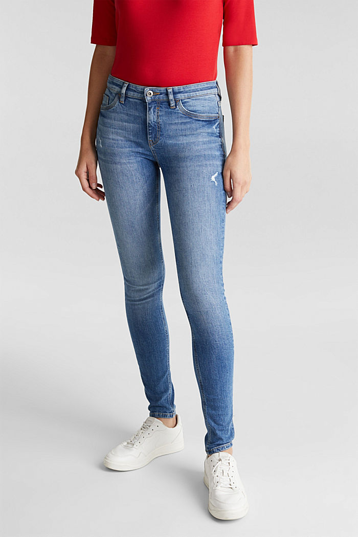 Skinny jeans with organic cotton