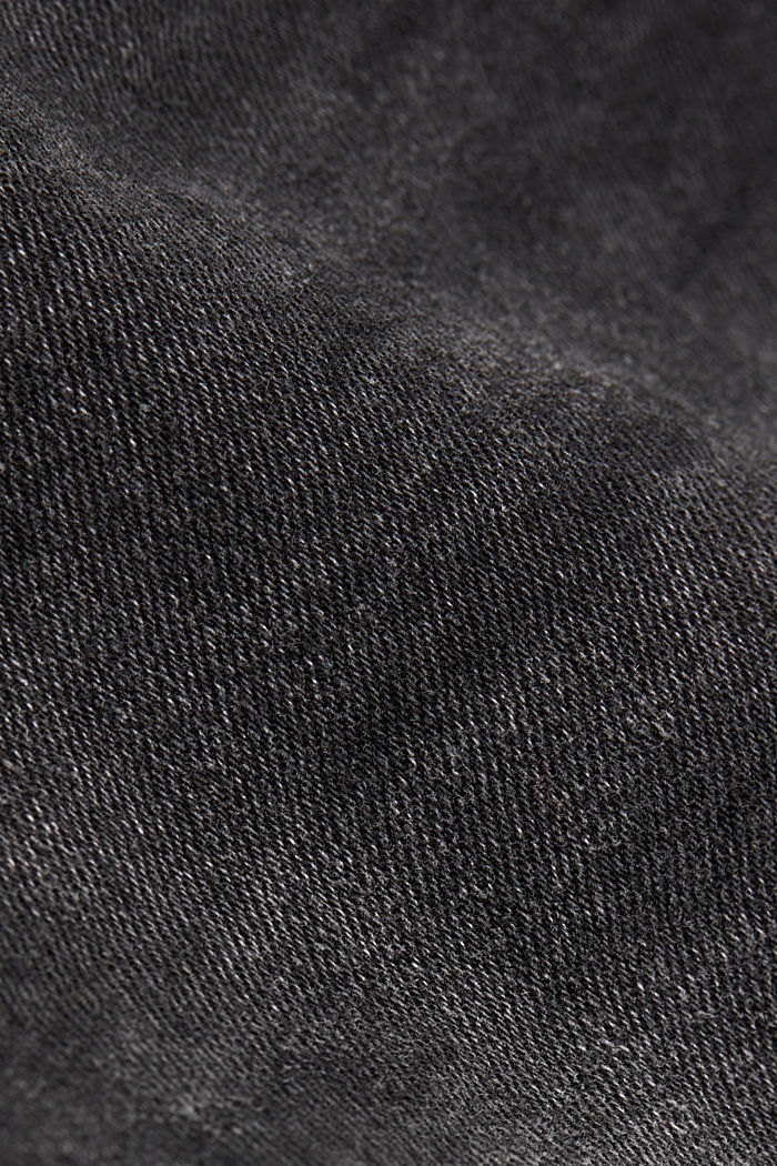 Super stretch jeans with organic cotton, BLACK MEDIUM W, detail image number 4