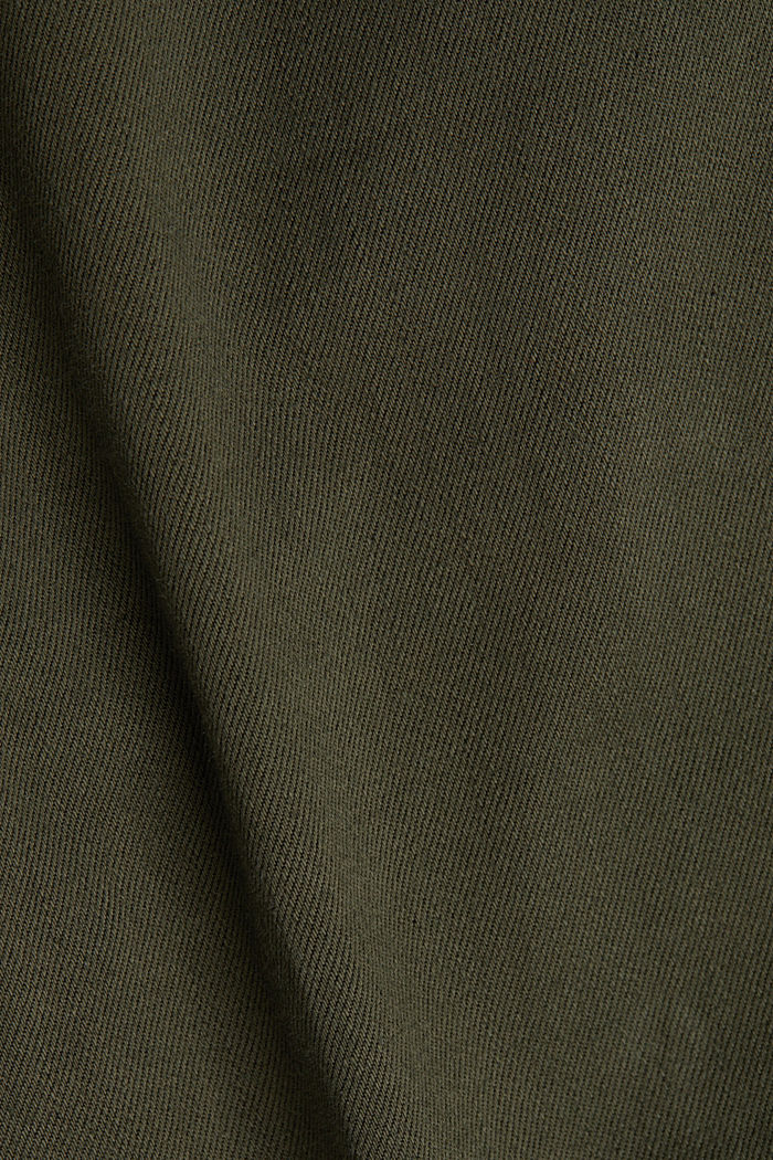 Treggings with stretch, KHAKI GREEN, detail image number 4