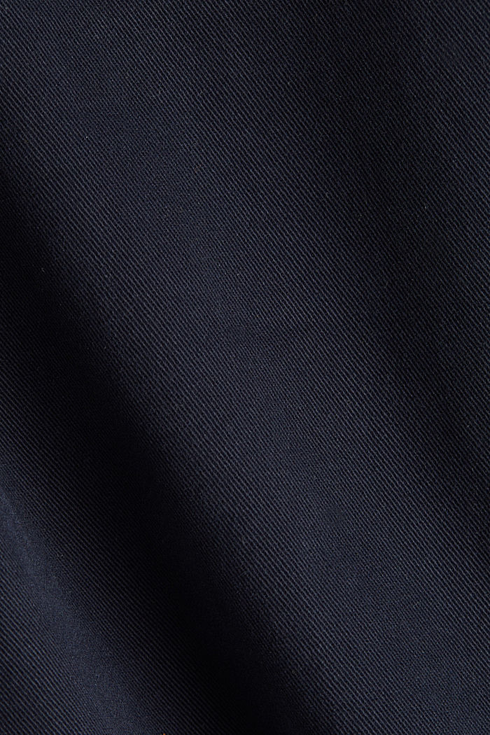 Stretch-Chino mit Organic Cotton, NAVY, detail image number 4
