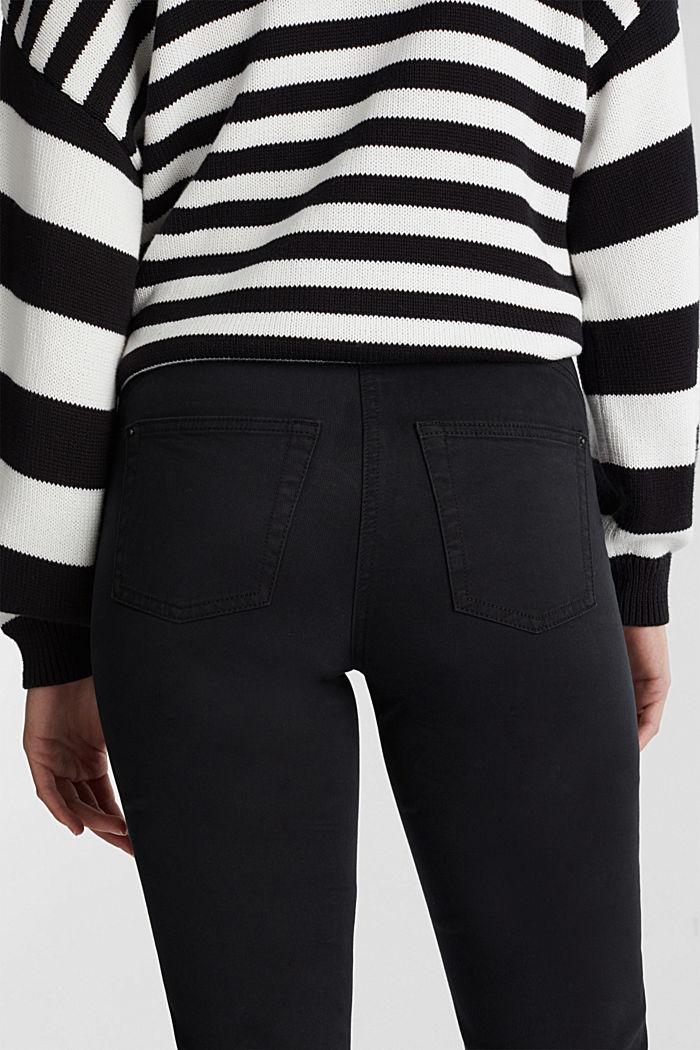 Stretch-Chino mit Organic Cotton, BLACK, detail image number 5