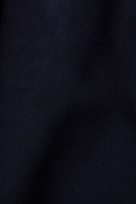Stretch chinos with organic cotton, NAVY, detail
