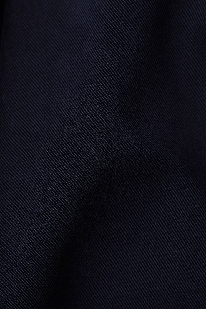 Stretch chinos with organic cotton, NAVY, detail image number 4