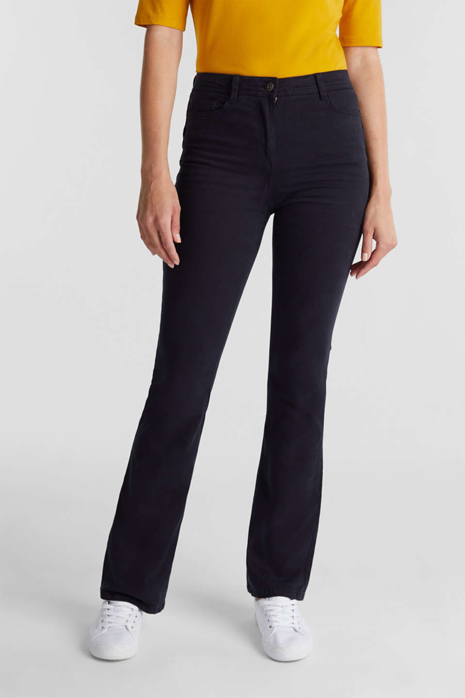 edc - Superstretch-Pants mit Organic Cotton