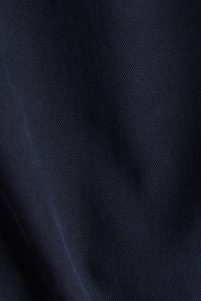 Super stretch trousers containing organic cotton, NAVY, detail image number 4