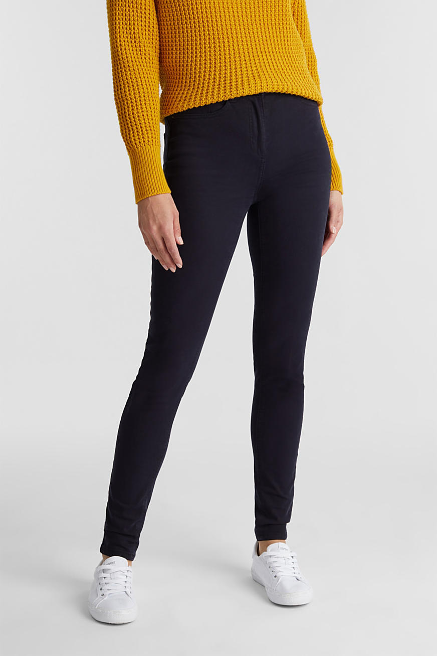 Broek met superstretch en organic cotton