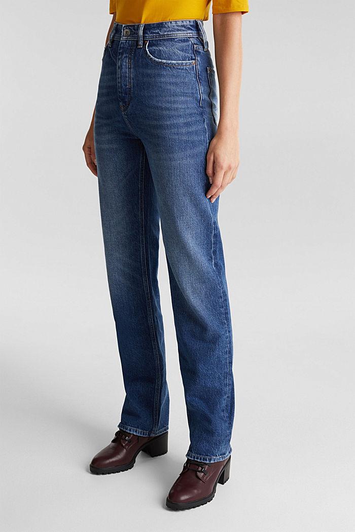 Super-High-Rise-Jeans, BLUE DARK WASHED, detail image number 0