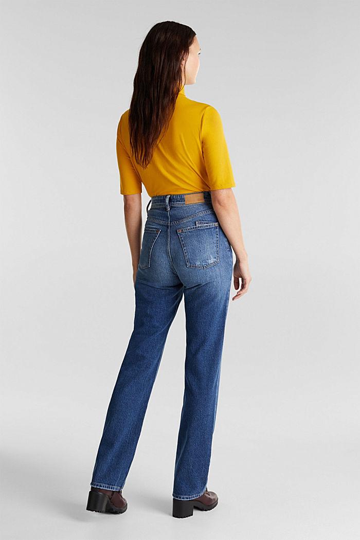 Super-High-Rise-Jeans, BLUE DARK WASHED, detail image number 3
