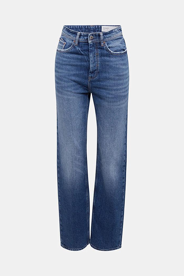 Super-high-rise jeans