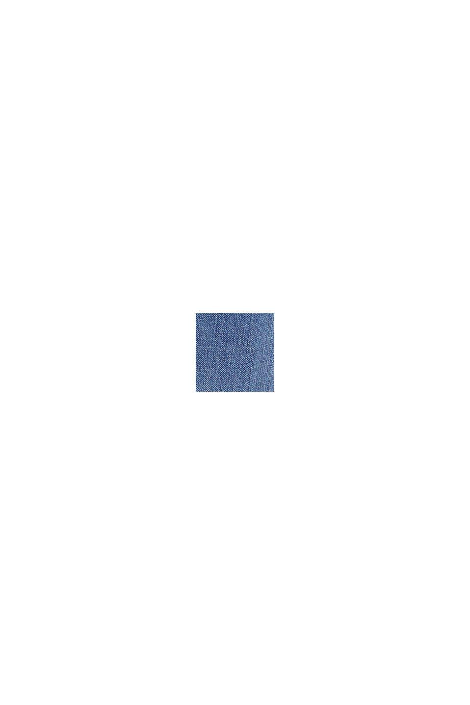 Jeans med superhög midja, BLUE DARK WASHED, swatch