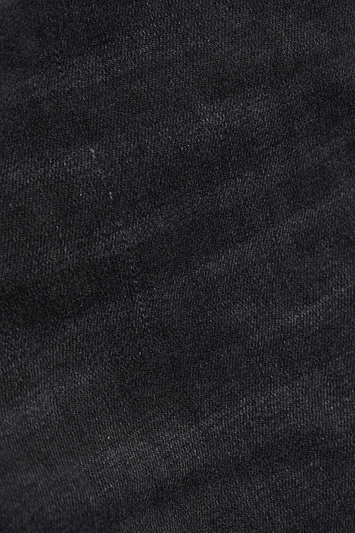 Shaping ankle-length jeans, BLACK DARK WASHED, detail image number 4