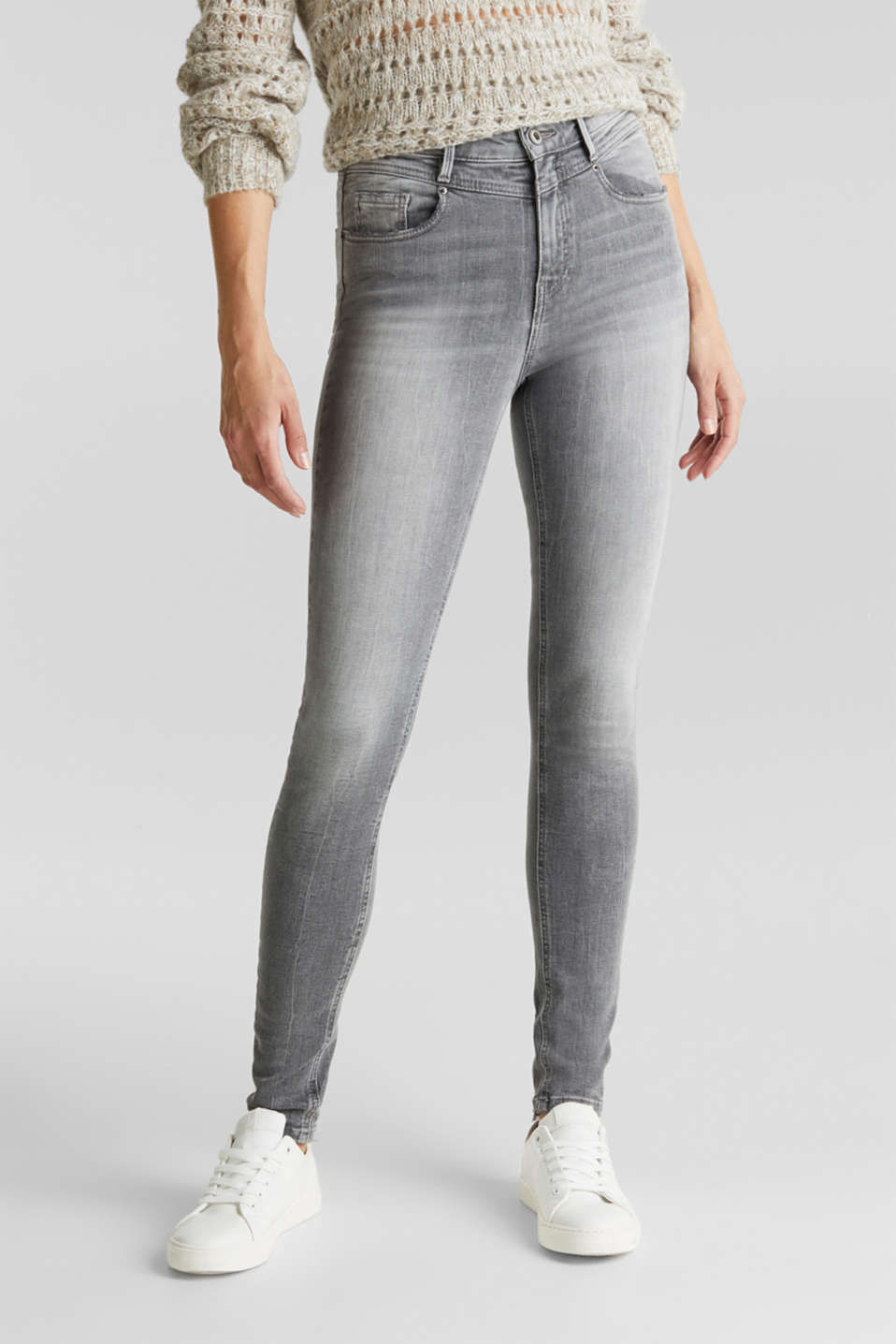 edc - Jeans met shaping effect
