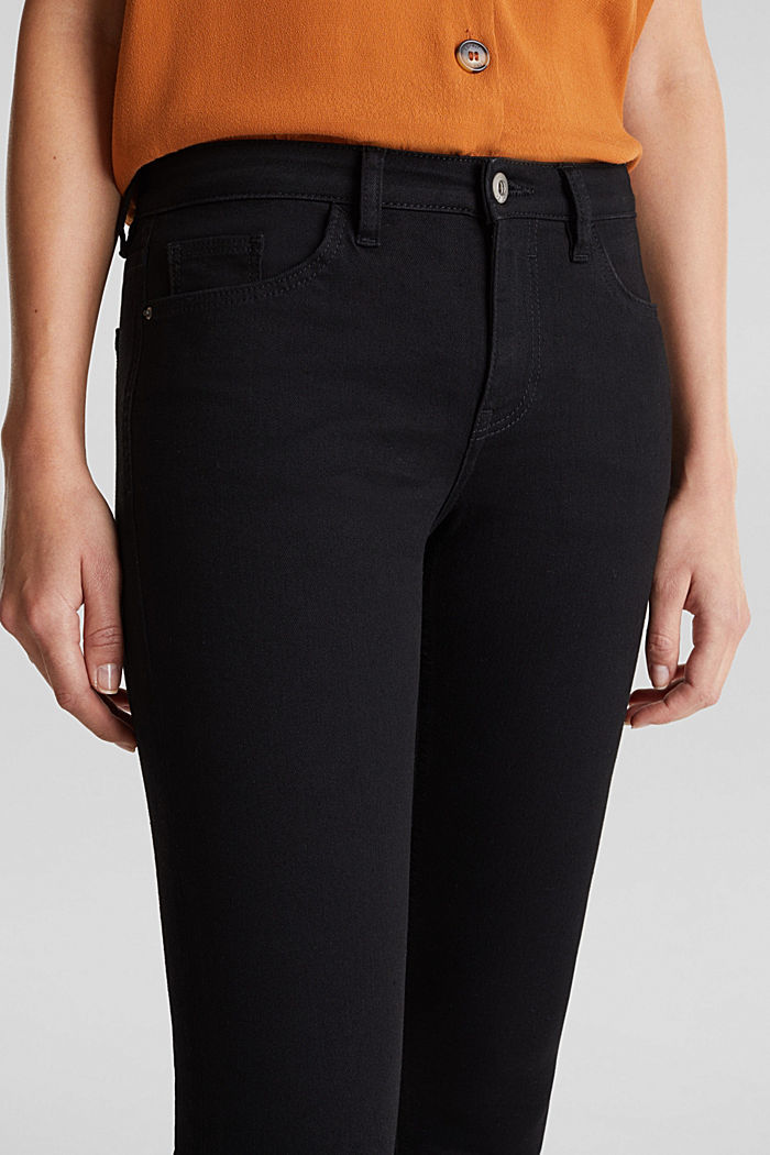 Skinny super stretch jeans, BLACK RINSE, detail image number 2
