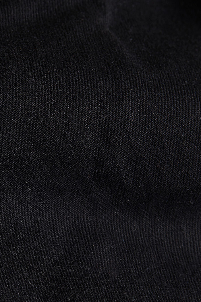 Skinny super stretch jeans, BLACK RINSE, detail image number 4