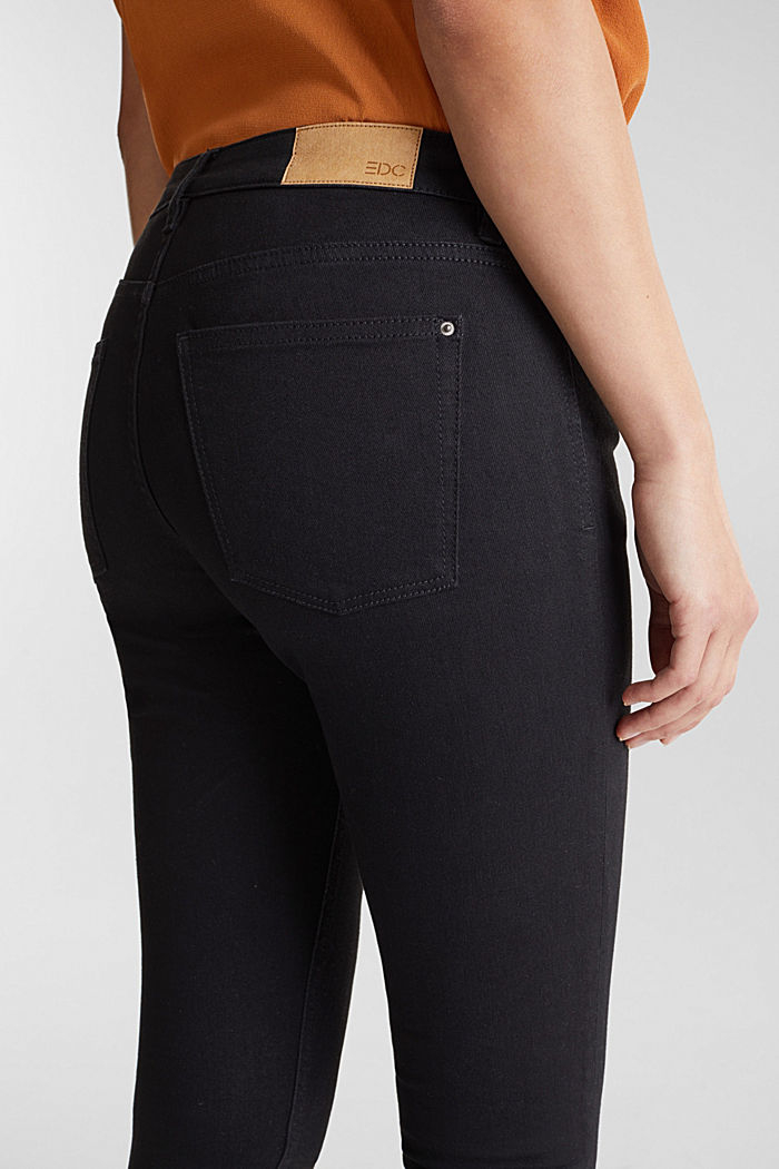 Skinny super stretch jeans, BLACK RINSE, detail image number 5