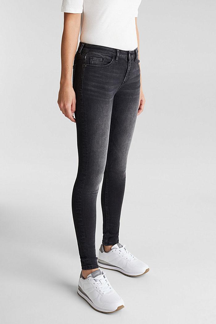 Skinny Superstretch-Jeans, BLACK MEDIUM WASHED, detail image number 0