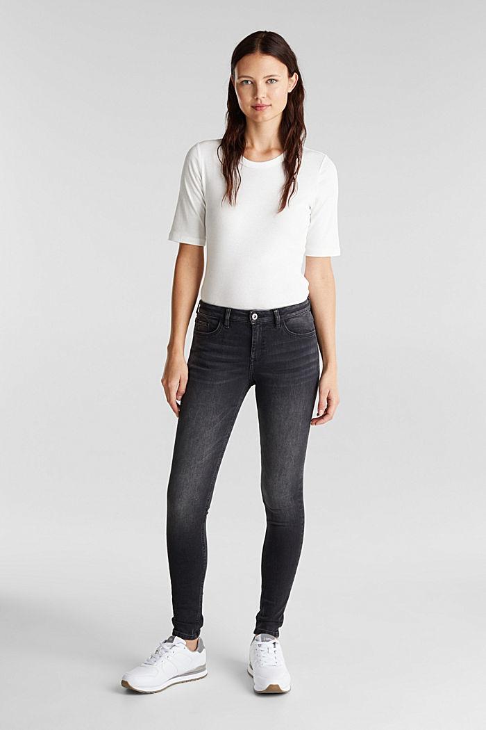 Skinny Superstretch-Jeans, BLACK MEDIUM WASHED, detail image number 1