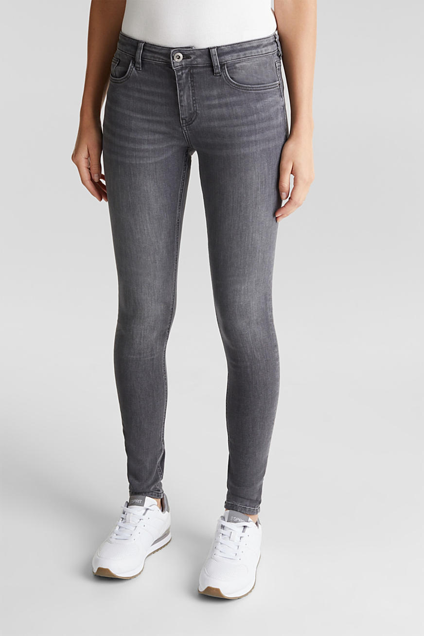 Skinny jeans met superstretch