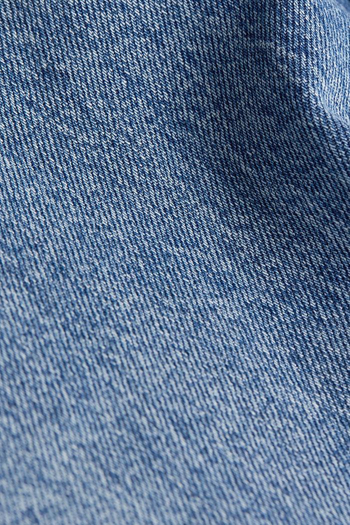 Jeans-Rock mit Organic Cotton, BLUE MEDIUM WASHED, detail image number 4